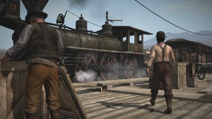 Как ограбить поезд в Red Dead Redemption 2