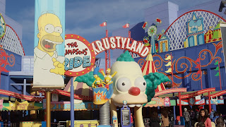 Parque tematico the Simpson's Ride