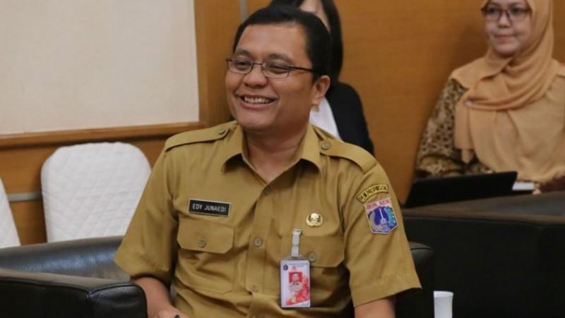 Kepala BPTSP Provinsi DKI Jakarta, Edy Junaedi