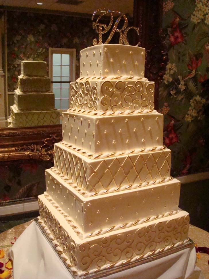 how to make a big wedding cake top of the 5 big wedding cakes cake magazine 15791