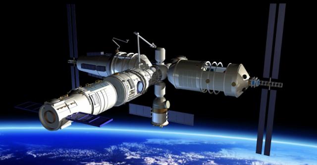 """Resultado de imagen de modole espacial """"Tianhe-1"""""""