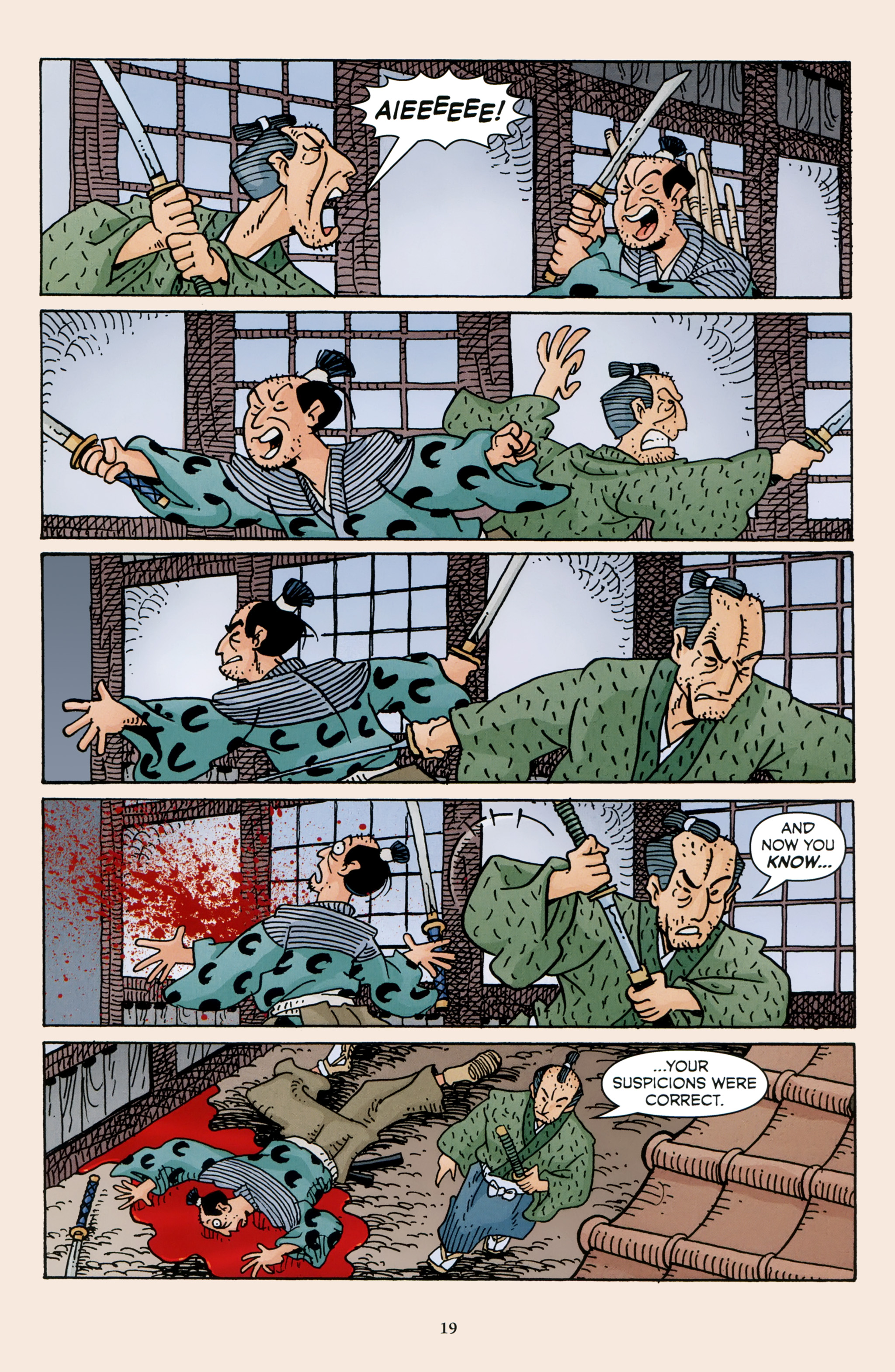 Read online 47 Ronin comic -  Issue #4 - 21