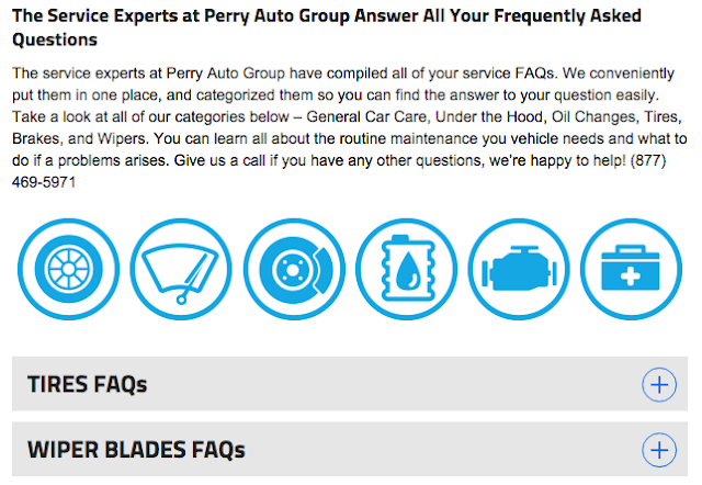 Perry Auto Group Answers Your Service FAQS