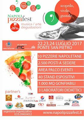 Napoli Pizza Fest 22-23-24 Luglio Ponte San Pietro (BG)