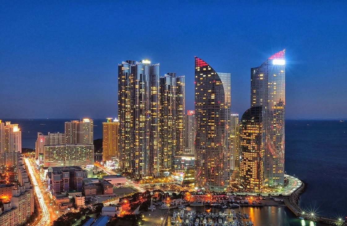 World Beautifull Places: Busan South Korea Nice View