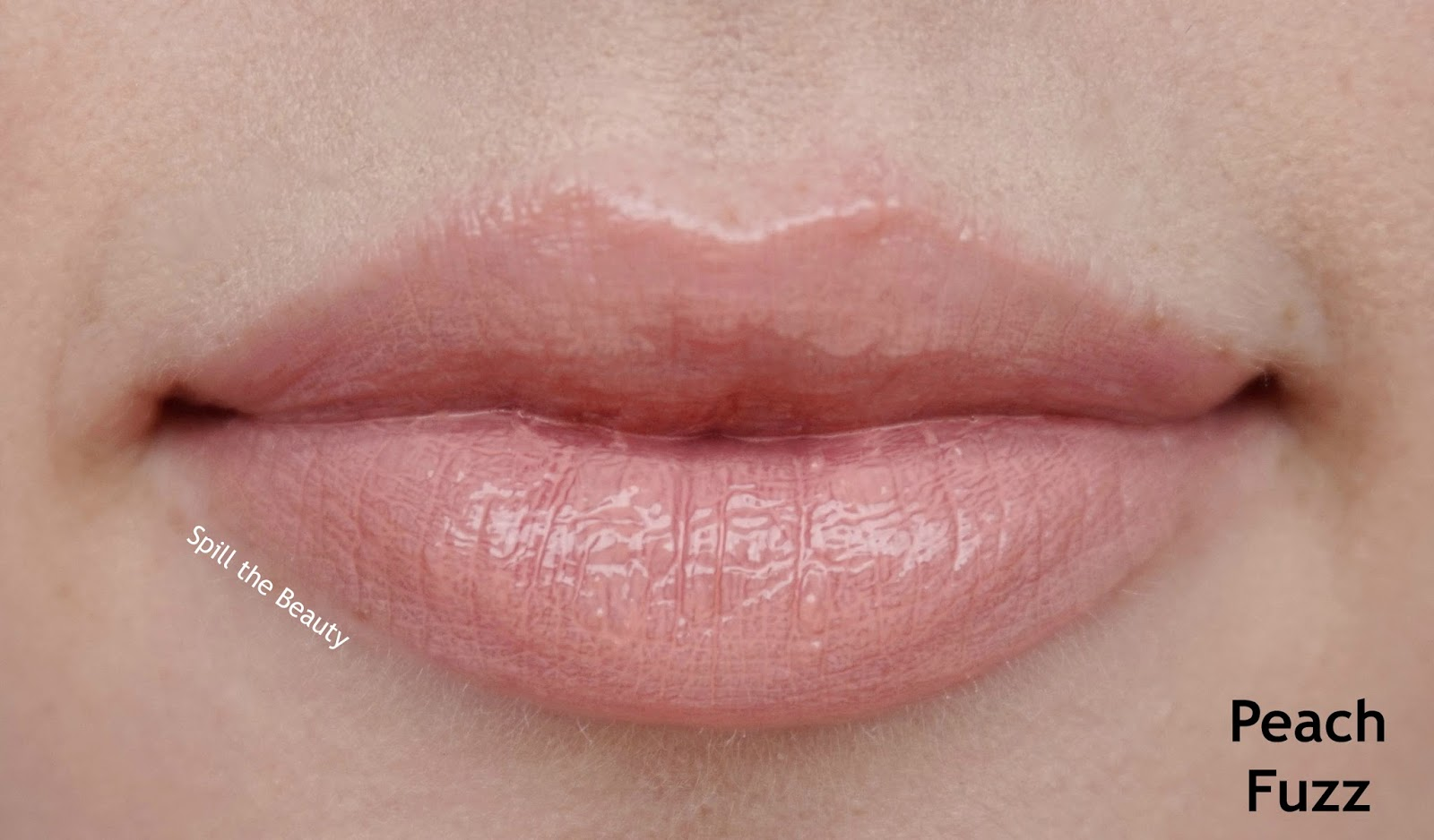 Too Faced gloss peach fuzz