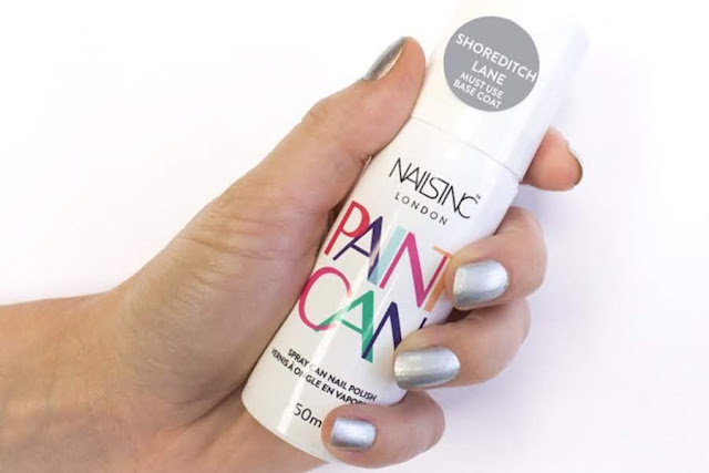 Perfect And Fastest Mani's Are Just A Spray Away With Paint Can
