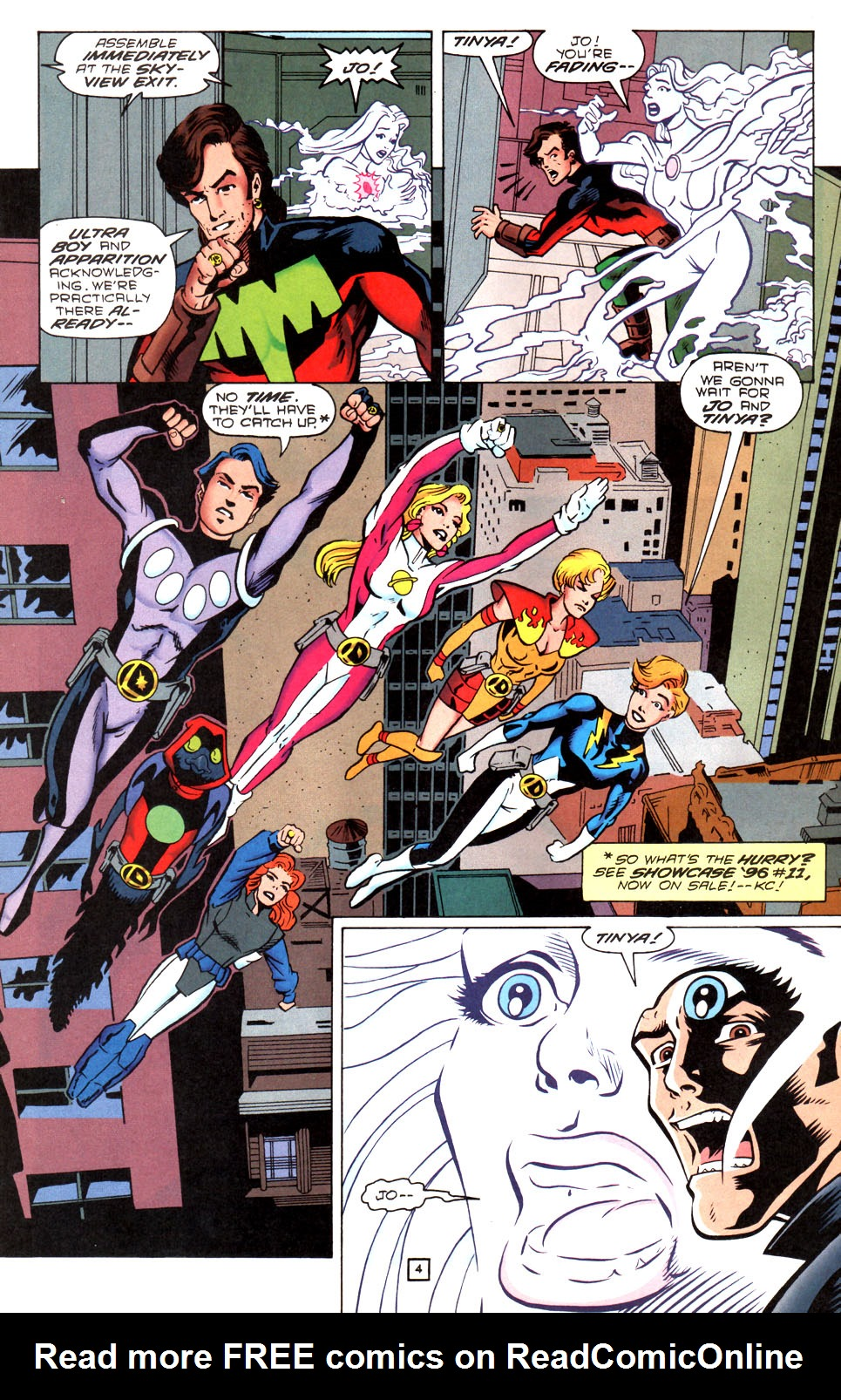 Legion of Super-Heroes (1989) 87 Page 4