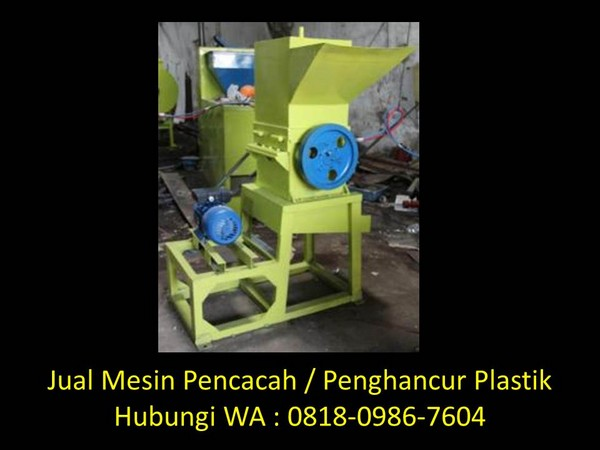 mesin penggiling plastik bekas di bandung