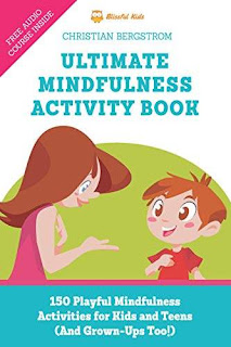 Ultimate Mindfulness Activity Book - 150 playful mindfulness activities for kids and teens book promotion service Christian Bergstrom