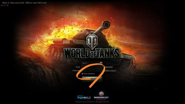 Gox World Of Tanks mods: 0 9 20 0 Save email and password