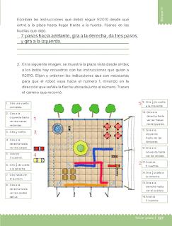 Respuestas Apoyo Primaria Desafíos matemáticos 3ro Grado Bloque IV Lección 60 El robot