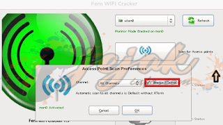 hack wifi pakai Fern WIFI Cracker