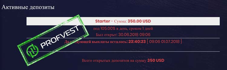 Депозит в BitOption