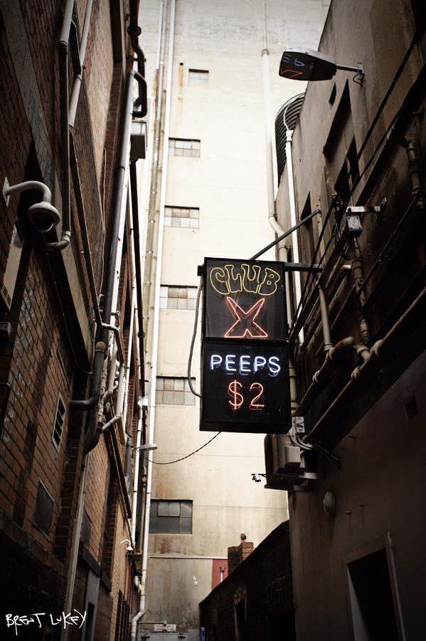 Melbourne peep show