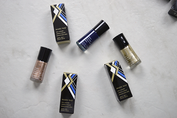 Mary Kay Cosmetics nail laquers and packaging