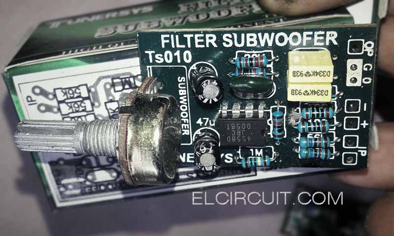 New Filter Subwoofer Circuit  Electronic Circuit