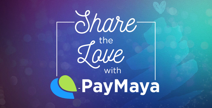 #ShareTheLove this Christmas season with exclusive treats from PayMaya