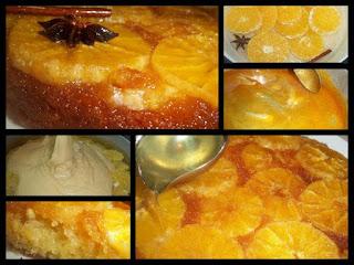 Recette du gâteau à l'orange et caramel