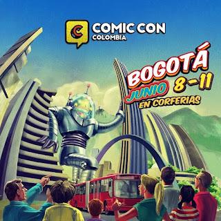 POSTER COMIC CON Bogotá No. 1 2018