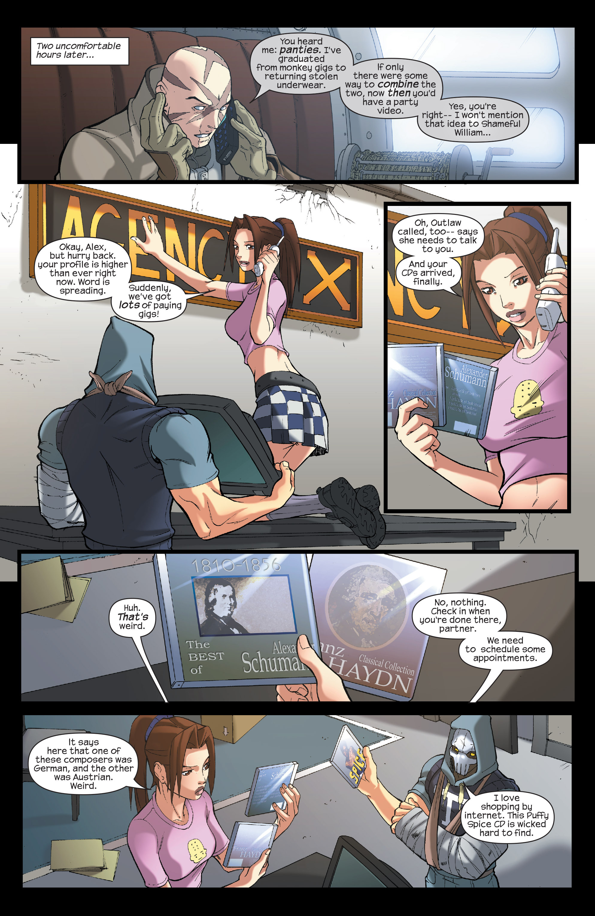 Read online Agent X comic -  Issue #7 - 9