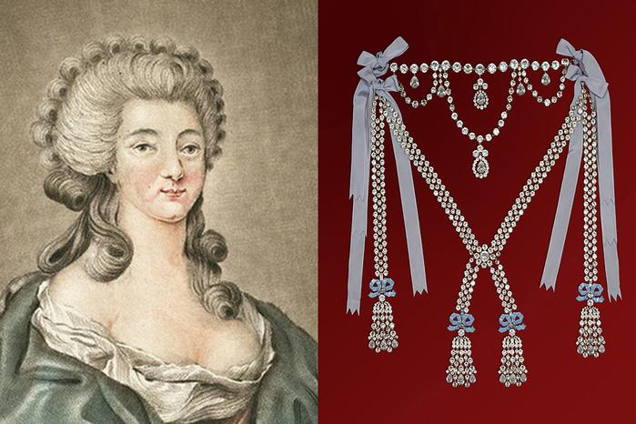 Графиня Ламотт (Миледи) и ожерелье