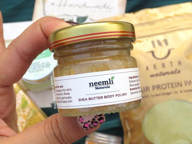 Neemli Naturals Shea Butter Body Polish