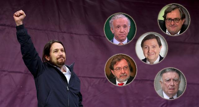 """""""Ser juez y ser parte"""": el papel de los grandes medios en los debates sobre PODEMOS"""