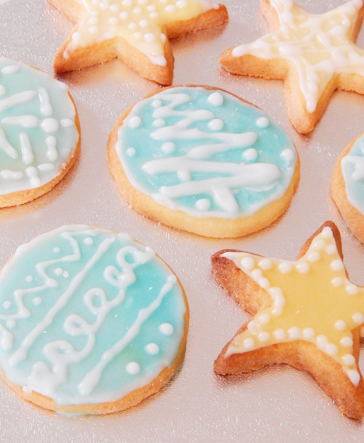 Christmas Iced Sugar Cookies | empoweredinternetwomen