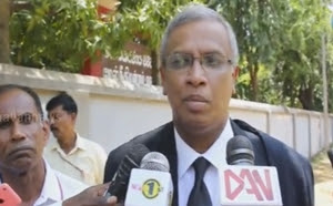 No power of Law of indictment against Daya Master : Sumanthran
