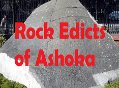 Rock Edicts and Pillar Edictsof Ashoka