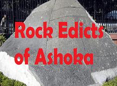 Rock Edicts and Pillar Edictsof Ashoka