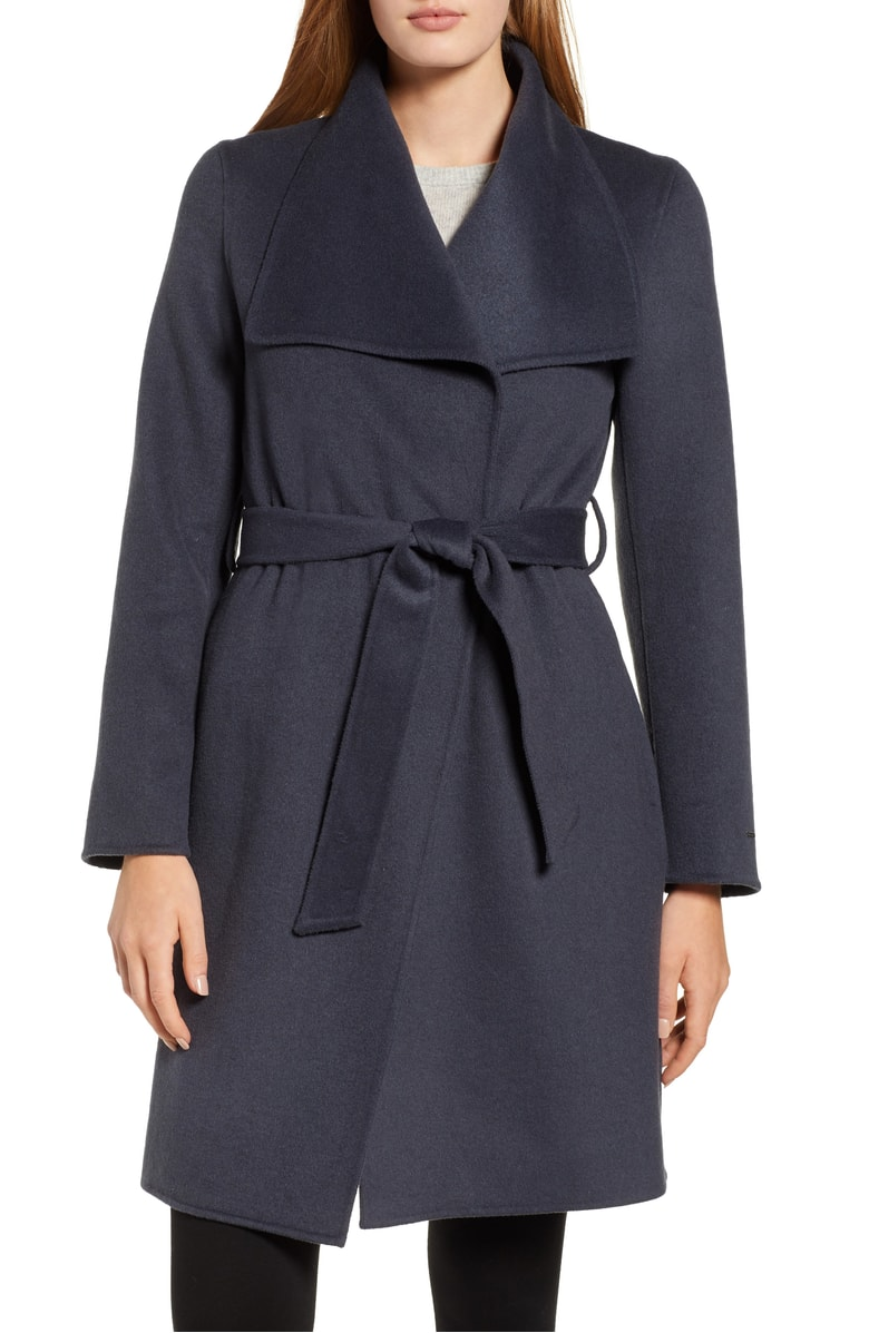 meghan markle wrap coat