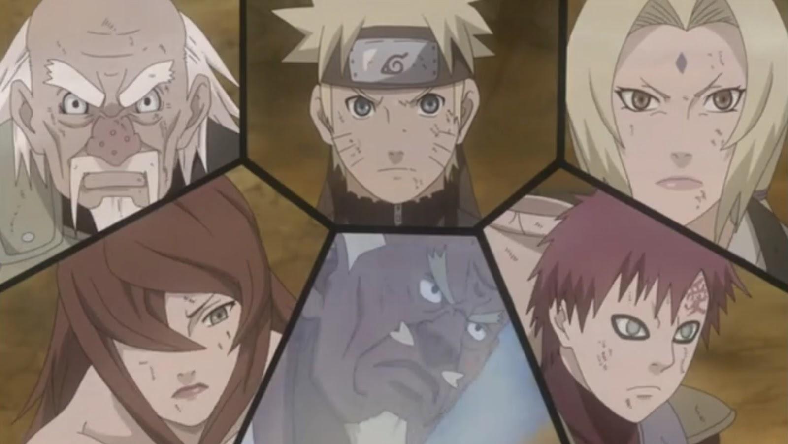 Naruto Shippuden: Episódio 323 – Reunindo os Cinco Kages