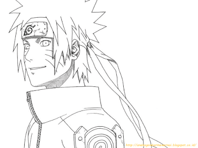 Mewarnai Gambar Naruto - 8