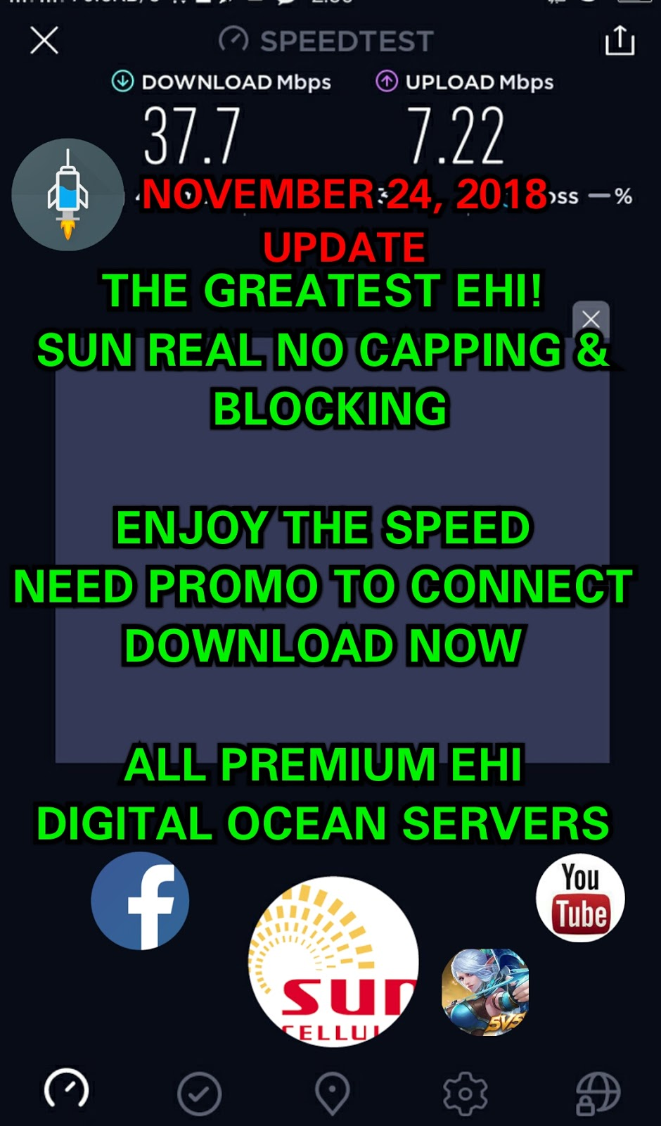 Sun Unlimited No Capping November 24, 2018 Ehi Update