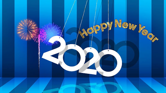 Happy New Year 2020 download besplatne pozadine za desktop 2560x1440 slike ecards čestitke Sretna Nova godina