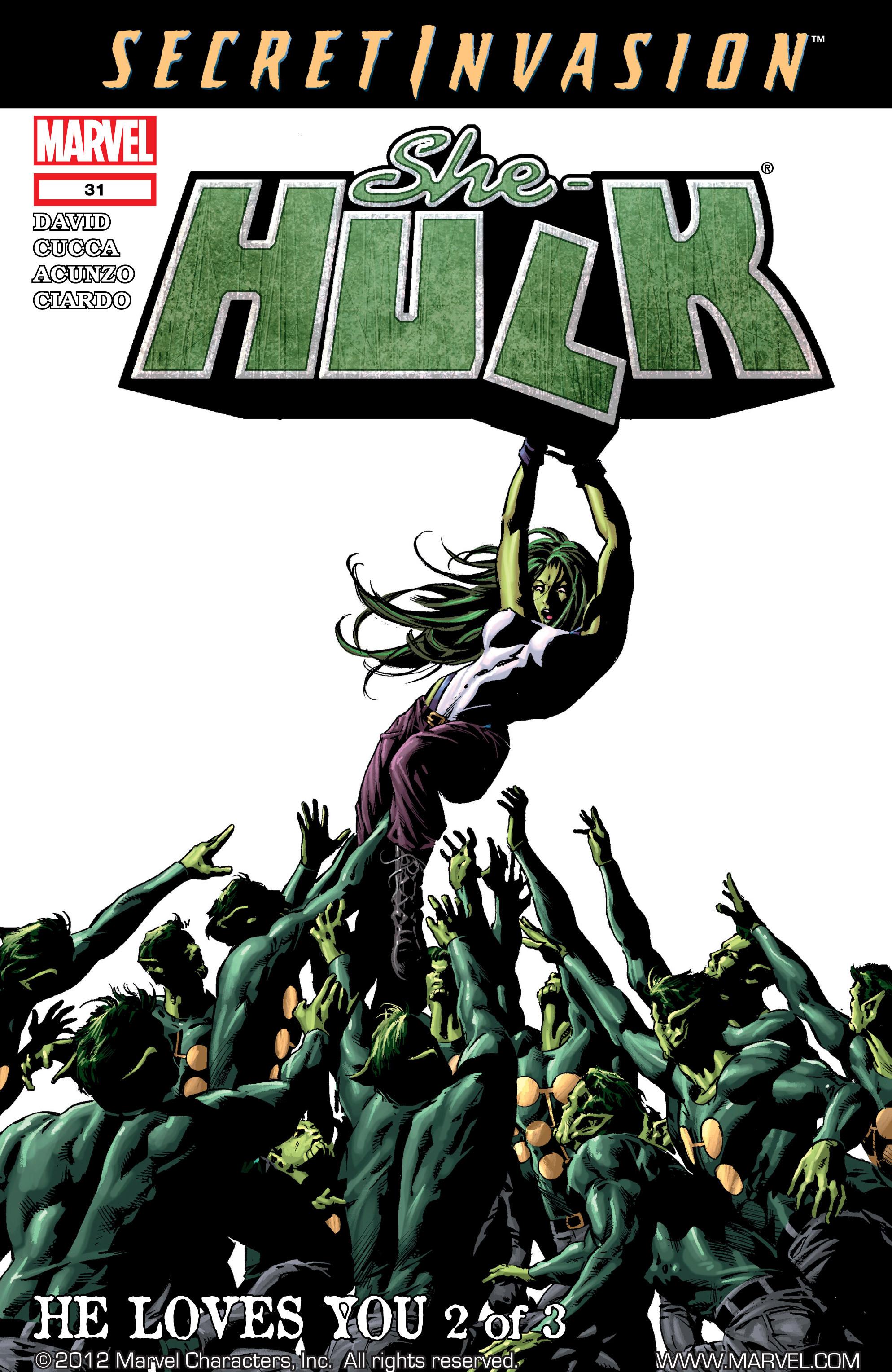 Read online She-Hulk (2005) comic -  Issue #31 - 1