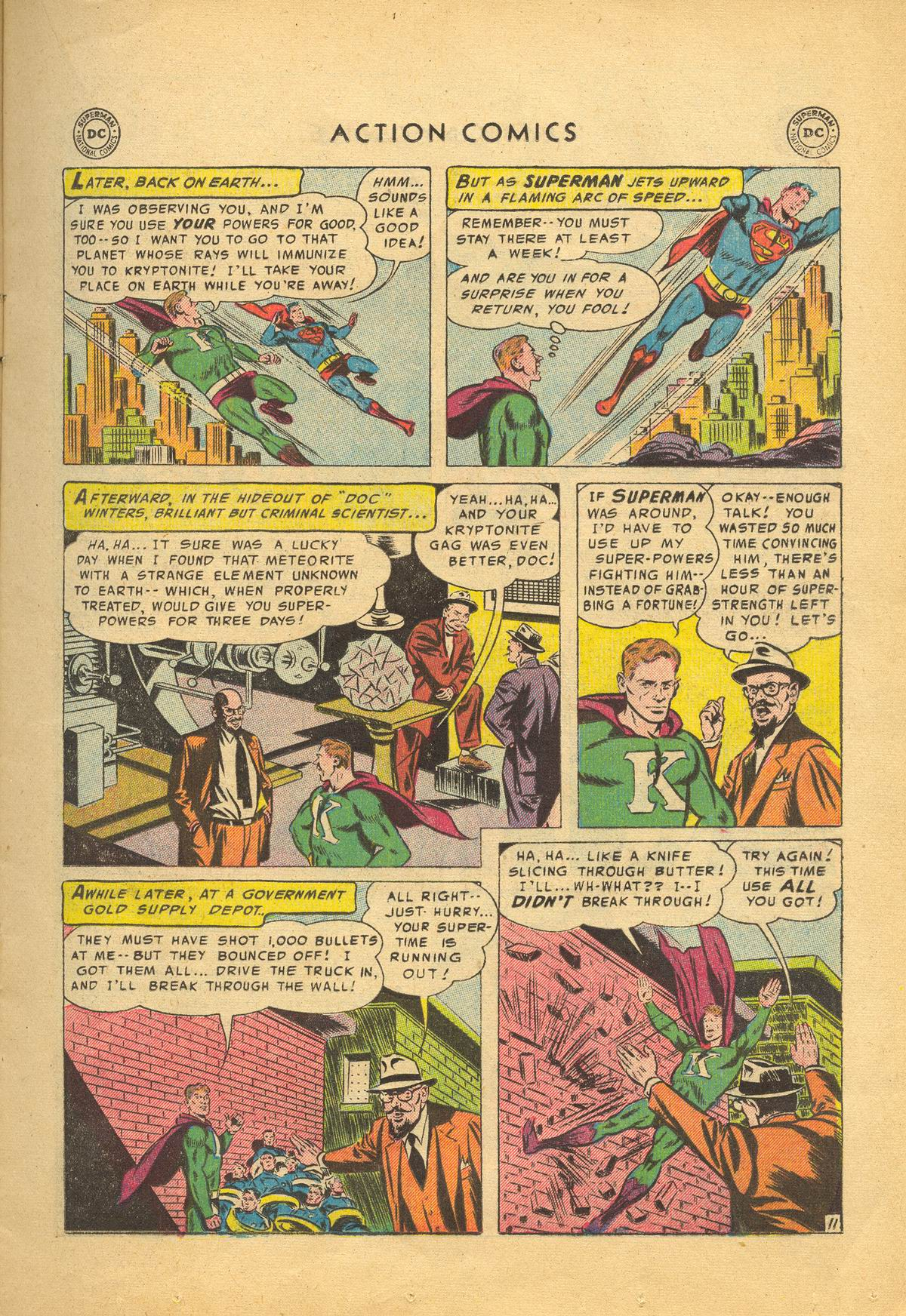 Read online Action Comics (1938) comic -  Issue #209 - 13