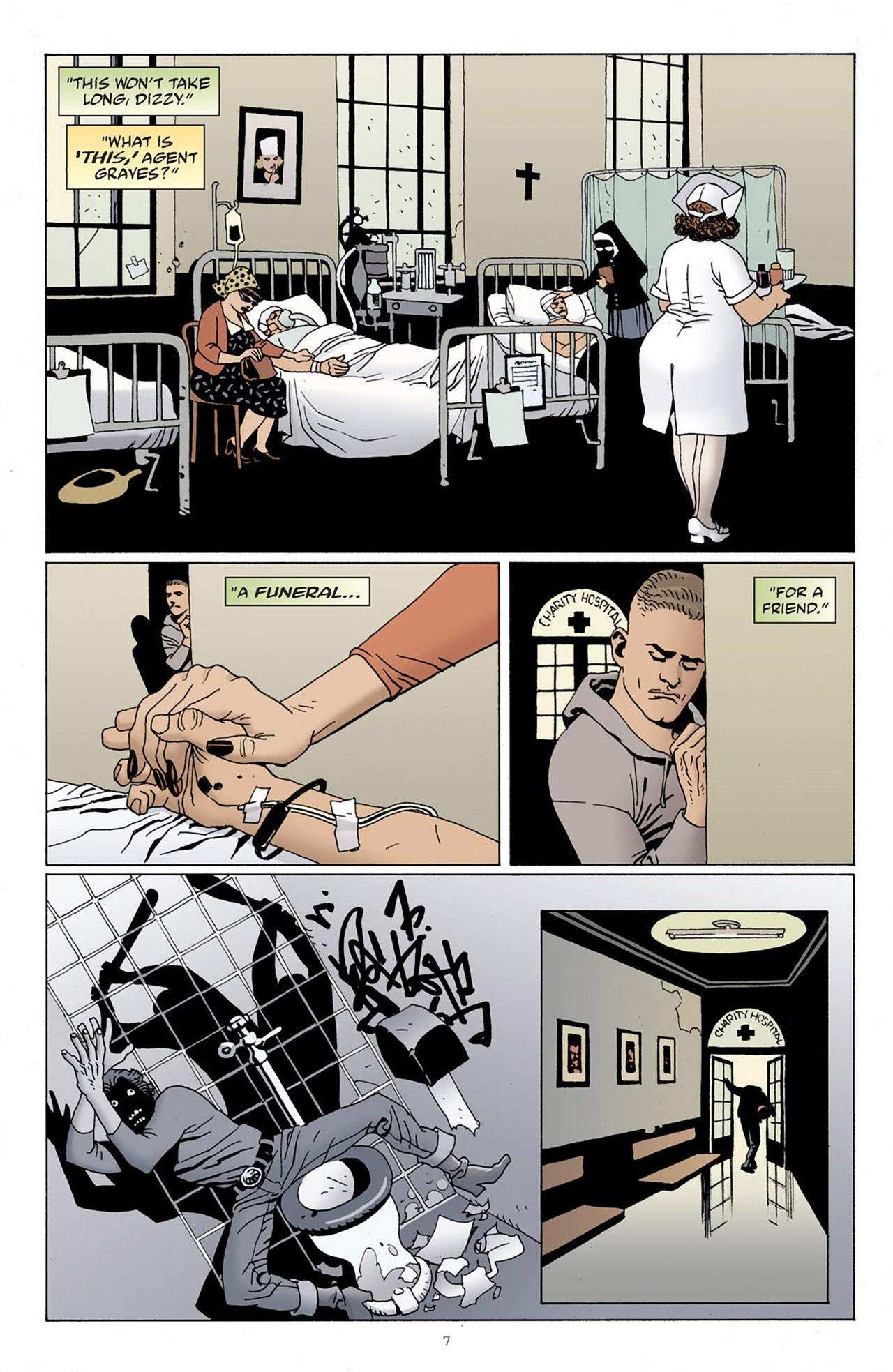 Read online 100 Bullets comic -  Issue #83 - 8