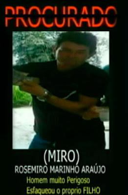 """Rosemiro Marinho, vulgo """"Miro"""", de 40 anos"""