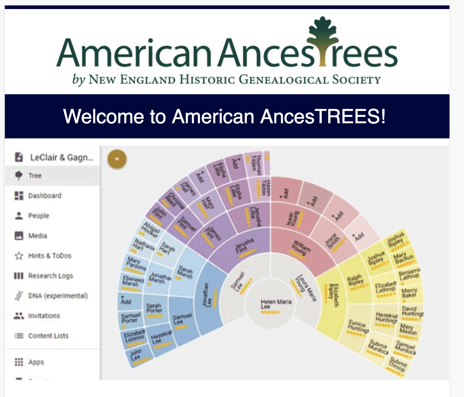 genealogy s star americanancestors introduces a family tree program