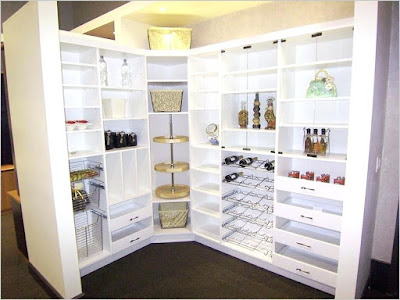 organize kitchen cabinets food