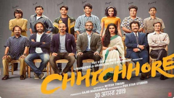 Chhichhore new upcoming movie first look, Poster of Sushant, Shraddha, Varun next movie download first look Poster, release date