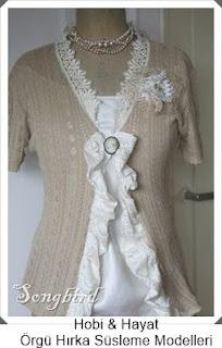 Giysi Süsleme - Hırka Süsleme - Hobi Moda - Kendin Yap 5