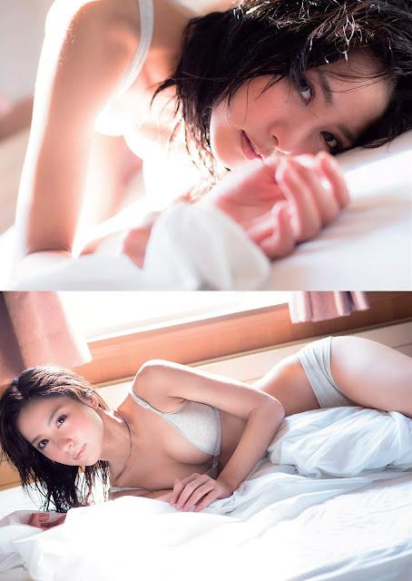 Ishikawa Ren 石川 恋 Weekly Playboy 2016 Jan Photos 3