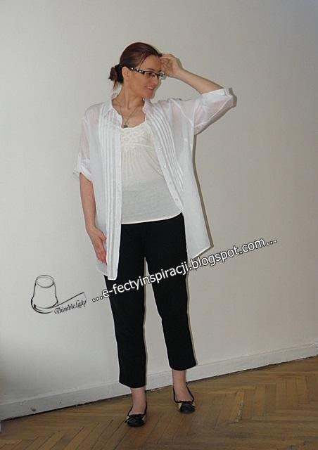 biała koszula jak uszyć