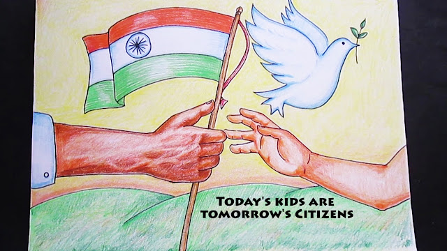 Republic Day Drawing Competition Images