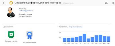 Google Top Contributor форума для вебмастеров