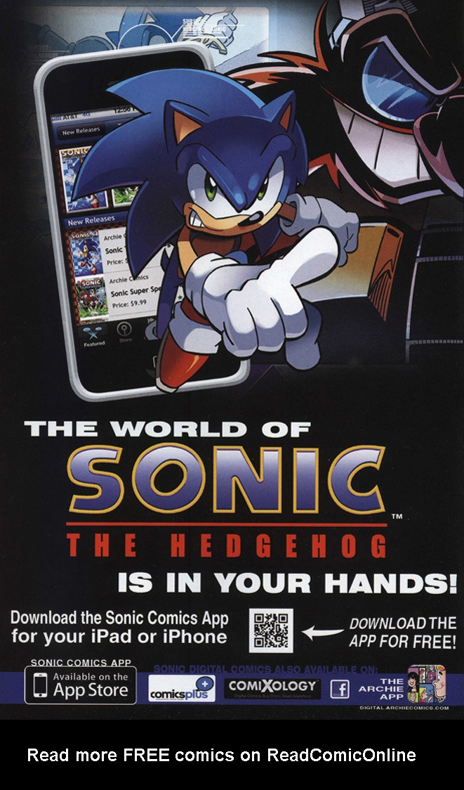 Read online Sonic The Hedgehog comic -  Issue #243 - 2